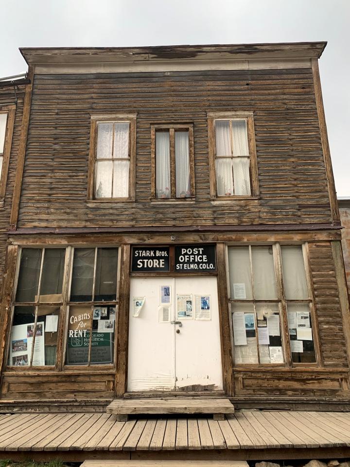 Colorado: St Elmo ghosttown